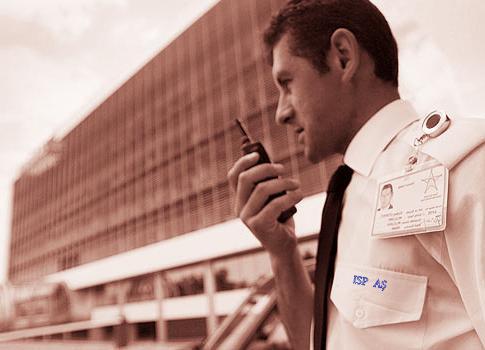 Otel güvenlik görevlileri