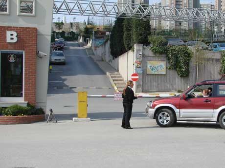 Site güvenliği bariyer sistemi