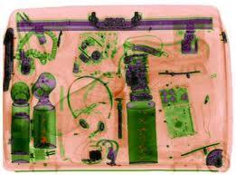X-Ray bağaj içeriği görüntüleme