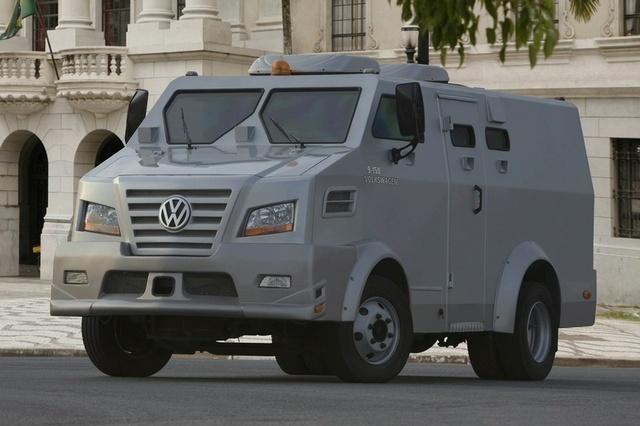 Zırhlı araç ile para taşımacılığı